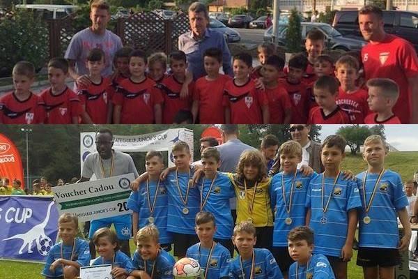 UTA 2010 și Atletico 2008, medaliate cu aur la Junior's Cup Țara Hațegului, UPDATE Foto-video