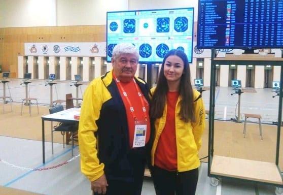 Pistolara Daria Haristiade, în TOP 15  la Cupa Mondială