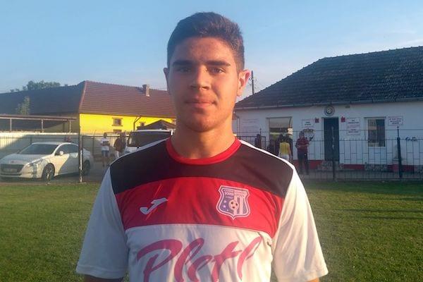 """Gabriel Buta, pariul de 16 ani al Lipovei – la primul gol în Liga 3-a: """"Sentiment frumos, unic, când vezi mingea intrând în plasă"""""""