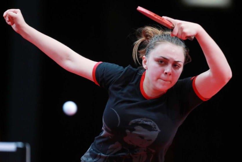 Sârboaica CSM-ului, Sabina Surjan, a câştigat Top 10 Europa la tenis de masă
