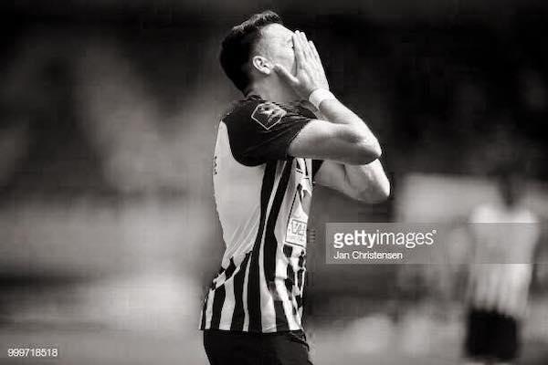 """Gol trist și pentru Adi Petre în Danemarca: """"Am jucat și am înscris cu gândul la voi"""""""