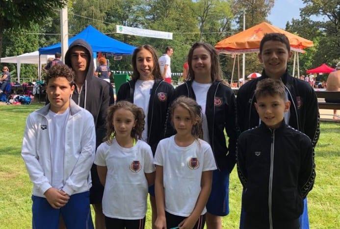 Înotătorii CSM-ului s-au remarcat la concursurile din Ungaria
