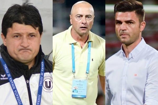 Trei demiteri și o numire în Liga 2-a: Falub și Grozavu – out de la U. Cluj, respectiv Petrolul, Bratu preia Bacăul! UTA mai joacă cu toate trei în 2018
