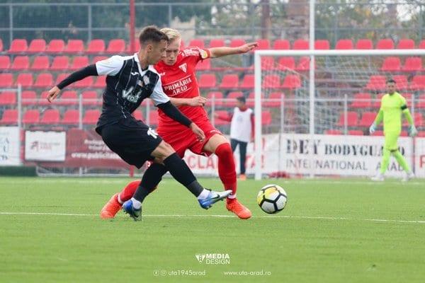 """Hrezdac a debutat în Liga a 2-a la nici 17 ani împliniți: """"Presiunea e destul de mare, am încercat să joc cât mai simplu"""""""