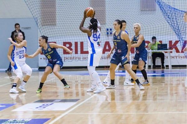În joc doar în primul sfert și puțin spre final: Olimpia CSU Brașov – FCC ICIM Arad 87-76