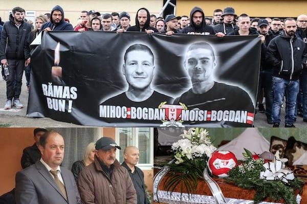 Familia UTA și-a luat rămas bun de la Bogdan Mihoc