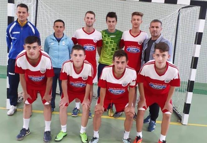 Șimandul a început în forță un nou sezon al Campionatului Național de Futsal Under 19