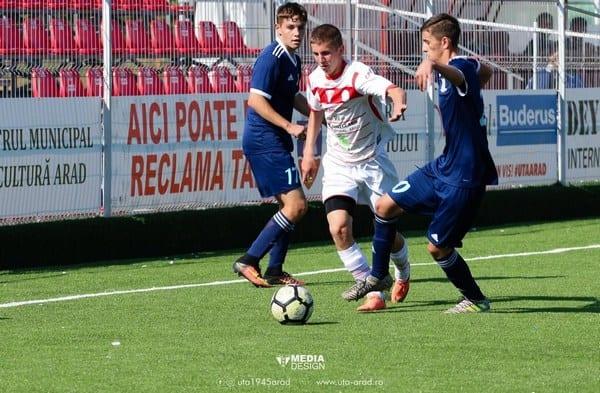 Liga Elitelor: UTA Under 17 nu a avut nicio șansă la Sibiu