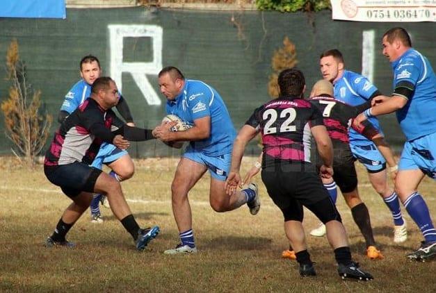 """Campionatul Național de Rugby în 7 a fost """"înghețat"""" cu CS Universitatea pe locul 5"""
