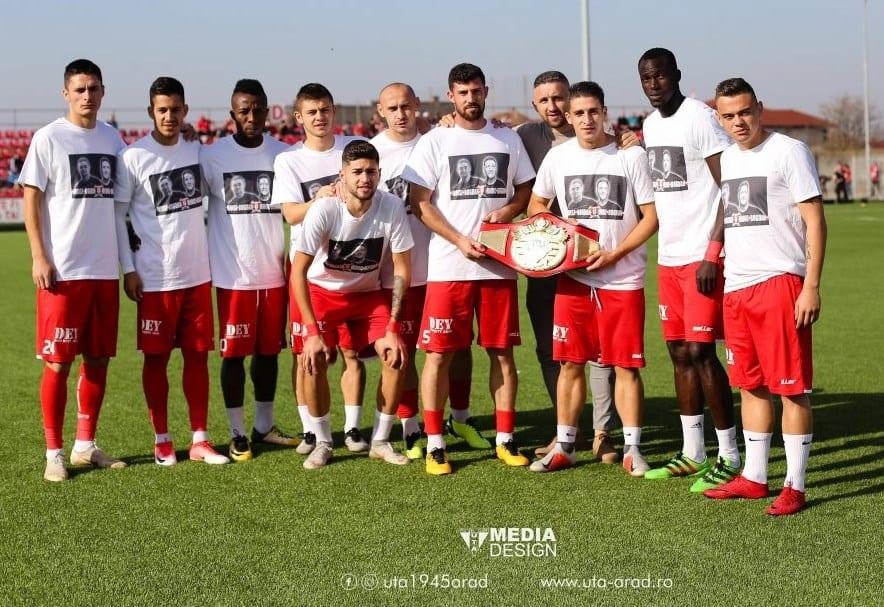 """Responsabilizarea jucătorilor, tema săptămânii în vestiarul UTA-ei: """"O întâmplare fericită că suporterii i-au aplaudat și le-au cântat după meciul cu U. Cluj"""""""