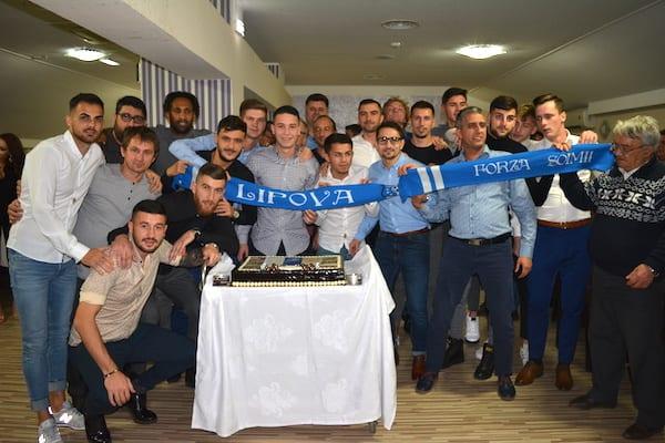 """La banchetul Lipovei s-a vorbit fără ocolișuri despre promovare: """"Dacă Dumnezeu dorește, vom juca în Liga 2-a!"""" Tort cu clasamentul pentru """"șoimi"""""""