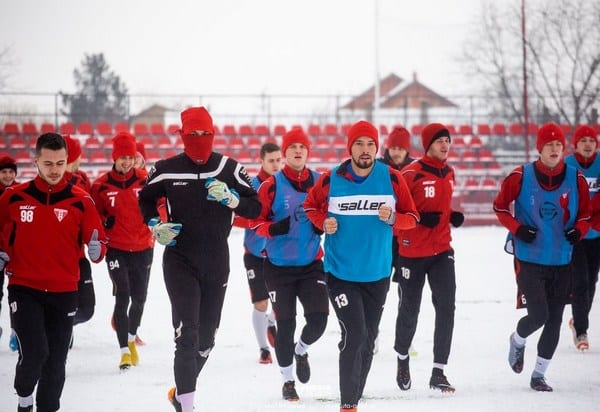 Zile decisive pentru trei-patru achiziții utiste, jucătorii ies sâmbătă din cantonament cu un test fizic