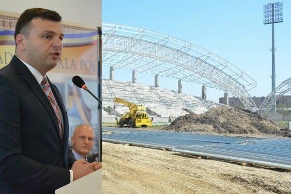 """Vicele CJA, Sergiu Bîlcea, susține că """"Francisc Neuman"""" va fi finalizat în acest an: """"Cred că UTA va juca pe noul stadion din turul sezonului 2019-2020"""""""
