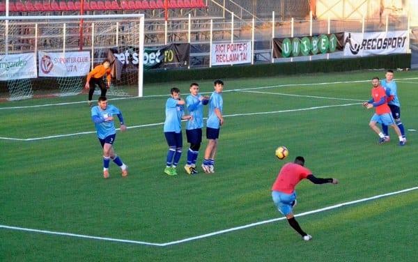 D. Popa și Kanda au decis amicalul UTA-ei cu Zăbraniul, Melinte – menajat în vederea meciului cu fosta echipă