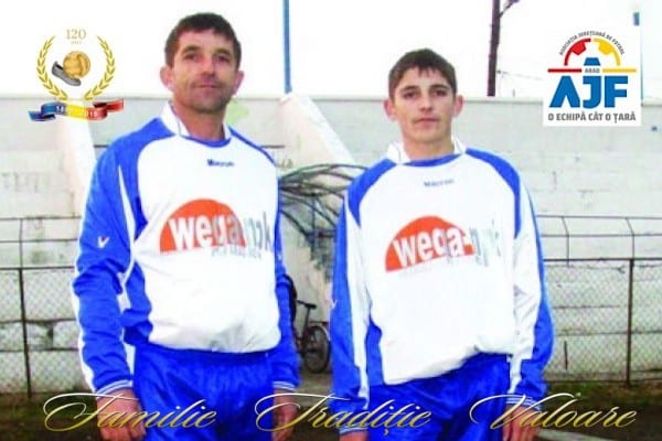 """120 de ani de fotbal în Arad. Andras Mako: """"Sunt de 35 de ani în fotbalul județean și aici vreau să mor, pe dreptunghiul verde"""""""