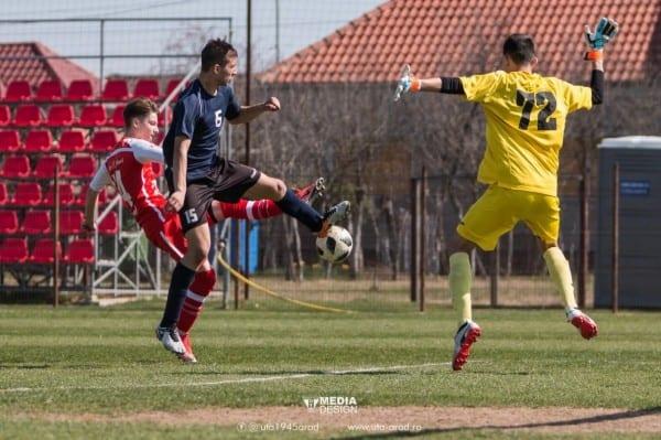 """1 punct, golaveraj 1-8 – """"palmaresul"""" juniorilor utiști la Elite Under 19 și 17, chiar în Sânnicolau Mic"""