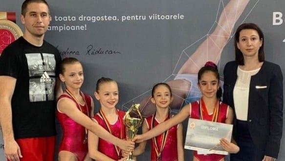 """Micile gimnaste, în prim-plan la Cupa """"Andreea Răducan"""""""