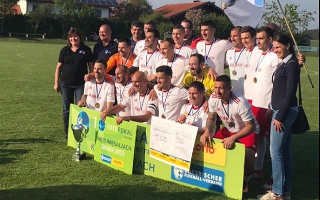 Arădenii Cuedan și Peii au câștigat Cupa în zona Salzach, din Germania: 1860 München – printre posibilii adversari din turul următor