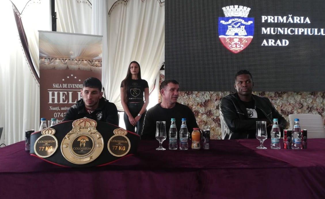 Au ajuns și oaspeții grei ai Galei Colosseum Tournament XII, show-ul, cu arădeanul Gafencu în prim plan, poate începe!