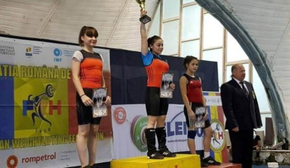 CSM-ul are patru medaliați la Cupa României de haltere – tineret: Gărgar – performera delegației arădene