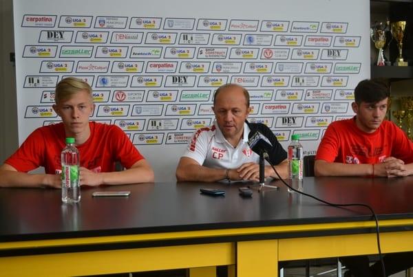 """Juniorii Hrezdac și Isac, pregătiți de vizita pe """"Cluj Arena"""": """"Să ne întoarcem acasă cu cel puțin un punct!"""""""