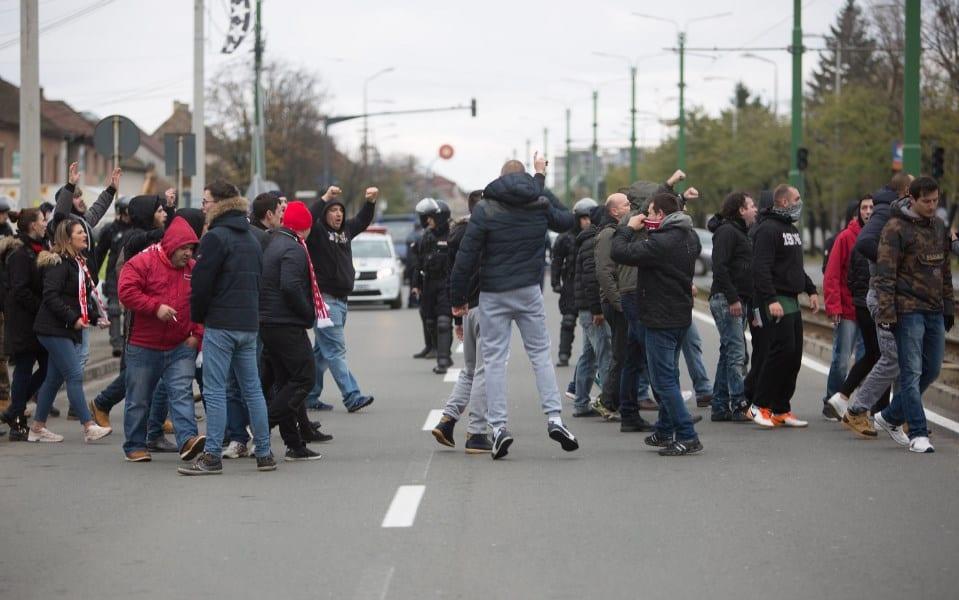 """Jandarmeria – în alertă pentru UTA – Poli: """"Atitudine civilizată, fără implicarea în incidente ce ar putea tulbura ordinea şi liniştea publică!"""""""