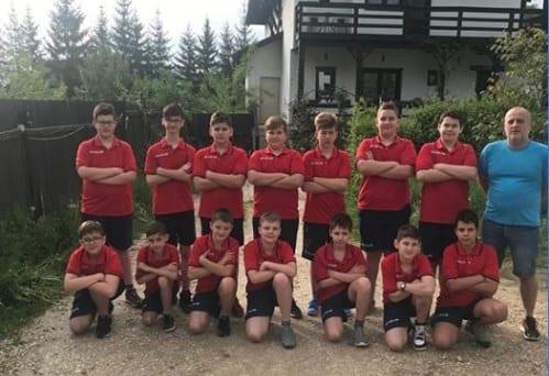 Puștii AMEFA-ei s-au calificat la turneele finale ale Cupei Federației de polo pe apă