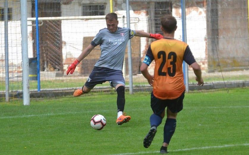 """Zamfir, al șaselea debut stagional de la UTA 2001: """"Patru viteze în plus în Liga 2-a, le mulțumesc antrenorilor pentru încredere"""""""