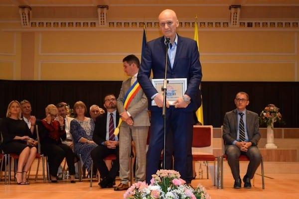 Zilele Aradului: Titlu de Excelenţă pentru Adrian Lucaci!