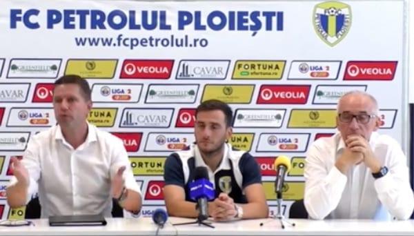"""Stoican: """"Noi vrem să jucăm cu Dinamo, Steaua…sigur că și UTA este echipă mare, dar și noi suntem Petrolul"""""""
