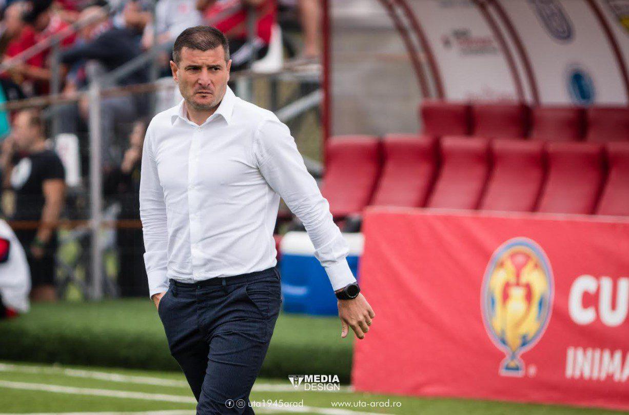 """Balint: """"M-aș fi bucurat pentru suporteri să o eliminăm pe Dinamo, pentru echipă nu știu dacă ar fi fost foarte bine la ce program infernal ne așteaptă"""""""