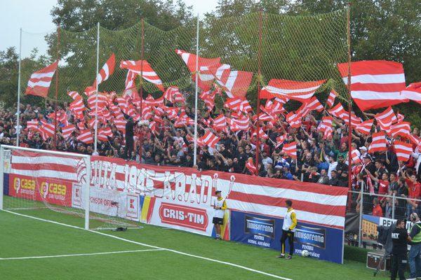 O (mică) parte a galeriei utiste va avea acces la meciul cu Universitatea Cluj