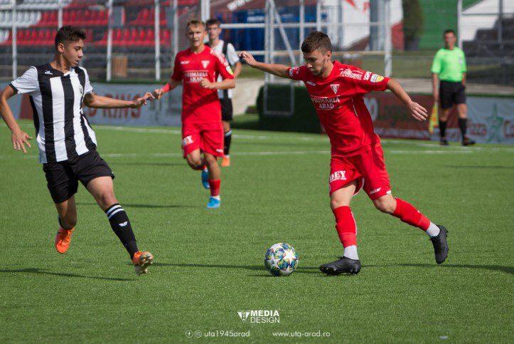 """Liga Elitelor: Clujenele """"U"""" și CFR au plecat cu mâna goală de la Arad! Utiștii de la U 19 și U17 au avut puterea să revină pe tabelă"""