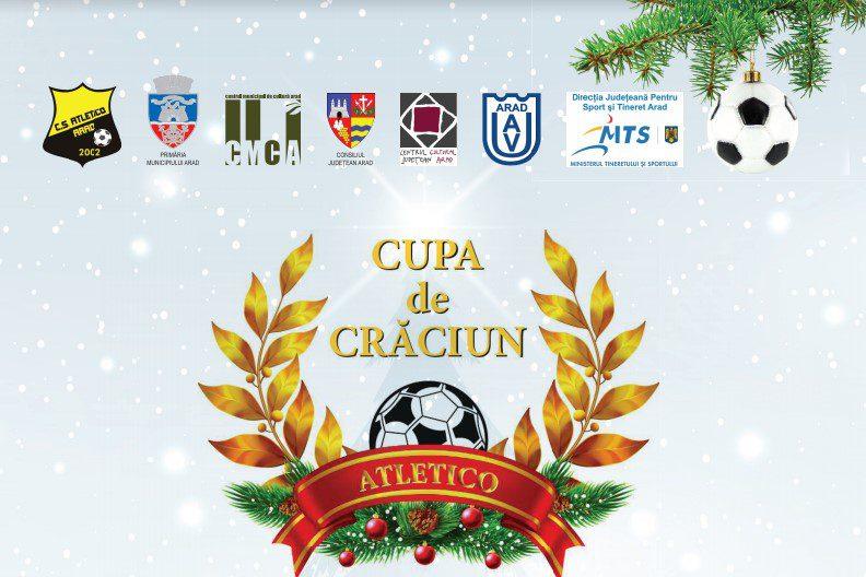 90 de formații din patru țări participă la ediția a 18-a a Cupei de Crăciun Atletico: Sâmbătă și duminică se aleg primele câștigătoare!