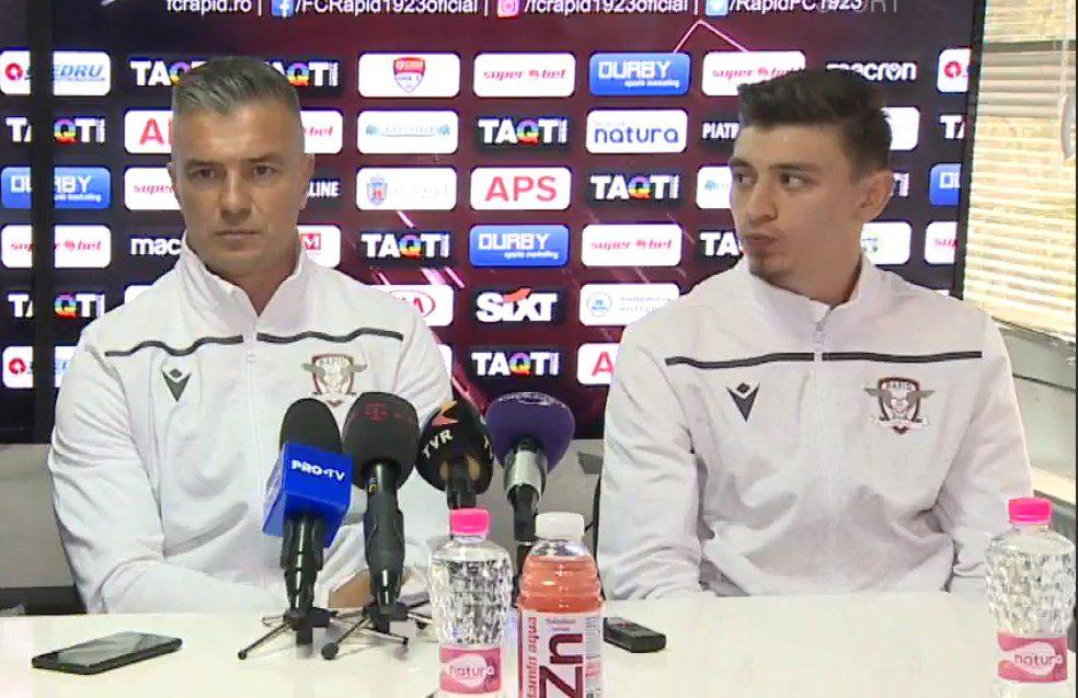 """Pancu pariază pe Hlistei și Jorza cu UTA: """"De obicei se cam marchează împotriva echipelor la care ai jucat"""" Balint – cel mai bun antrenor în opinia unui rapidist"""
