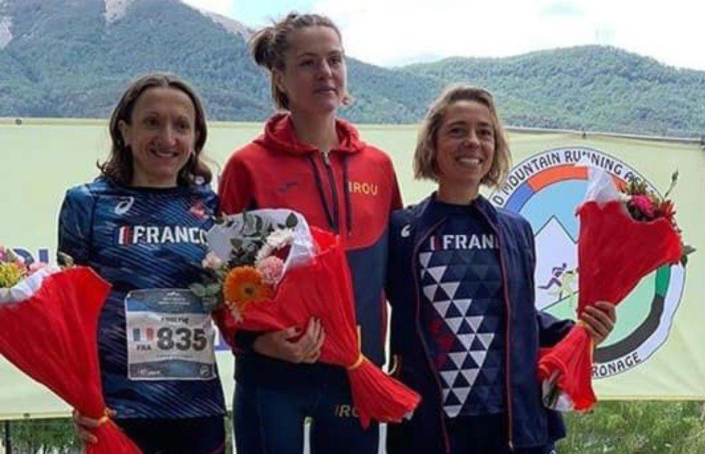 """""""Studenta"""" Cristina Simion e noua campioană mondială la alergare montană"""