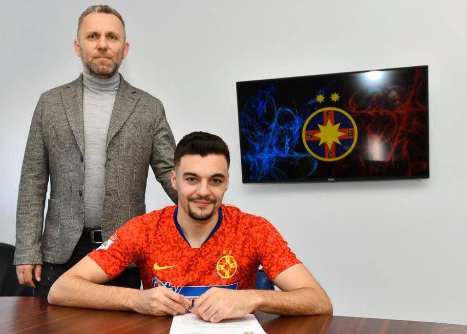 Adi Petre se desparte de FCSB după numai o jumătate de an, arădeanul costă 300 de mii de euro și are oferte din străinătate!