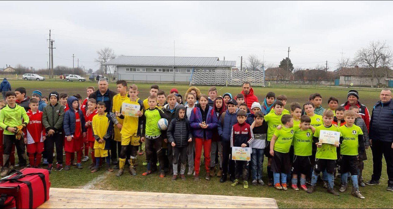 Șicula, Horia și Secusigiu ajung lângă Socodor în finala Cupei Satelor U13