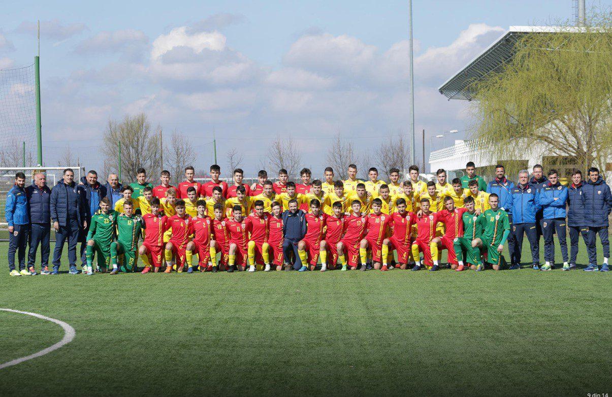 Șase fotbaliști arădeni, prezenți la stagiul de pregătire al naționalei Under 15