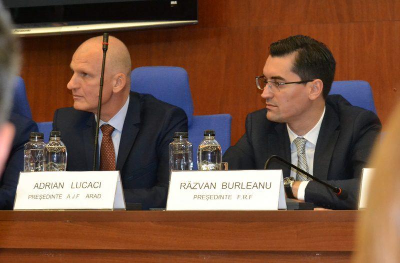 """Omagiul președintelui FRF pentru bunul său prieten, Adi Lucaci: """"Am învățat mult de la el, ceea ce a reușit în toți acești ani va rămâne un reper național"""""""