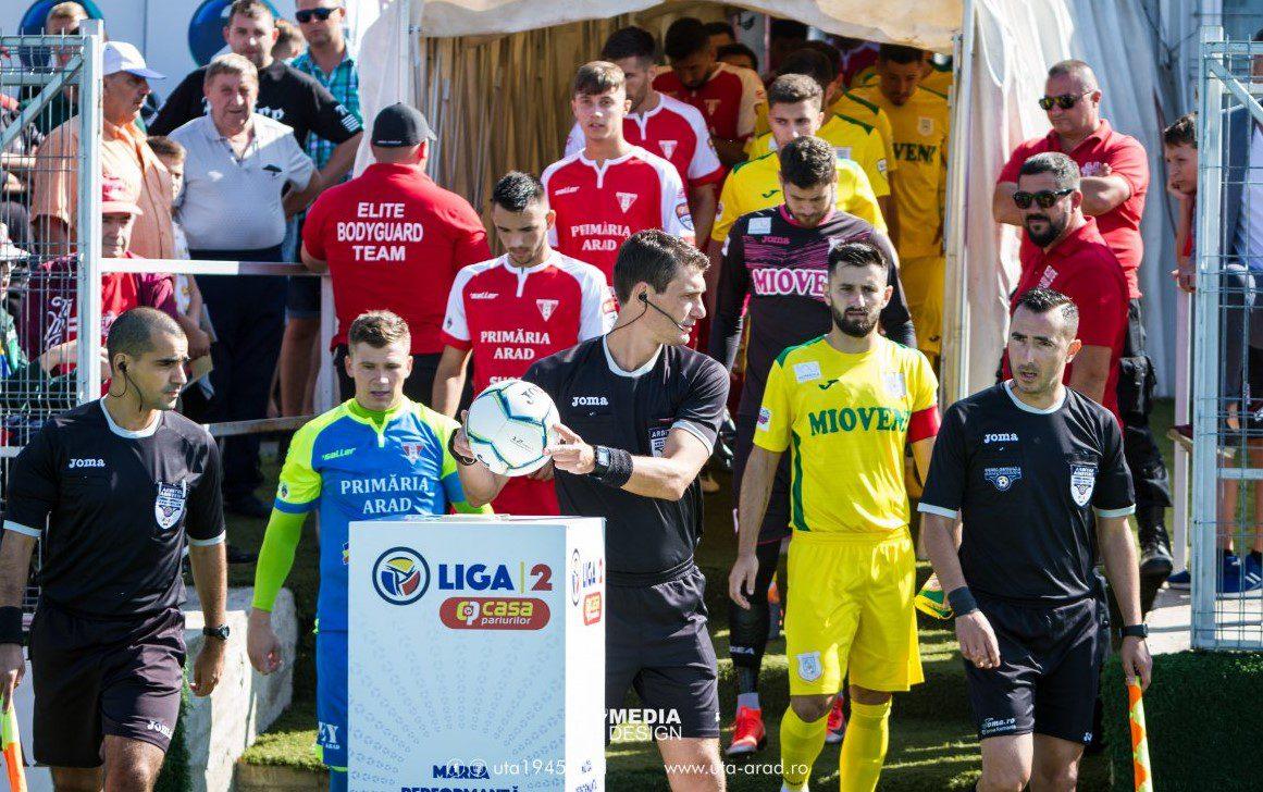 Presată de televiziuni, conducerea FRF a gândit un scenariu ideal pentru UTA și Mioveni care ar promova direct în Liga 1!