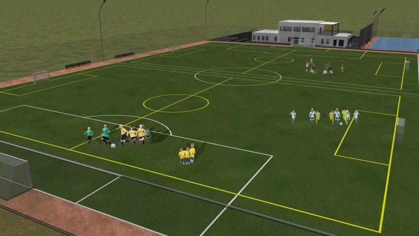 Noua bază sportivă din Sântana, la ora licitației! Unirea optează pentru un play-off de patru echipe pentru deznodământul Ligii a 4-a