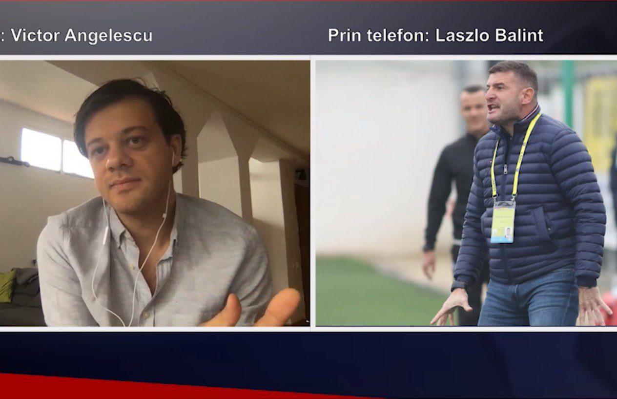 """Foști colabotarori la Snagov, Balint și Angelescu au susținut cauzele UTA-ei și Rapidului în """"speța"""" play-offului de 5 meciuri cu înjumătățire de puncte!"""