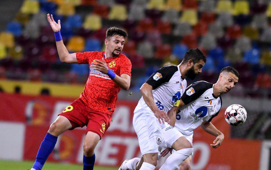Adi Petre, la primul gol în Liga 1!