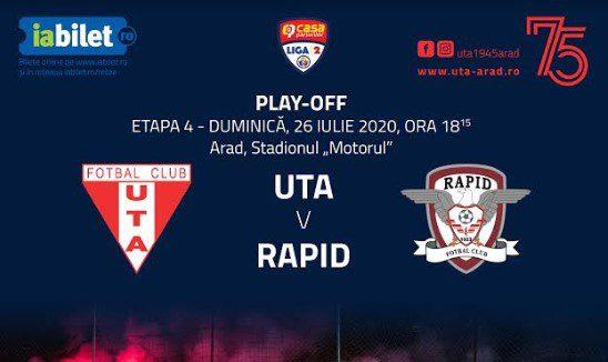 """Se vând bilete virtuale la meciul sezonului în fotbalul arădean: """"Dorința echipei e să știe că ar avea stadionul plin cu Rapidul!"""""""