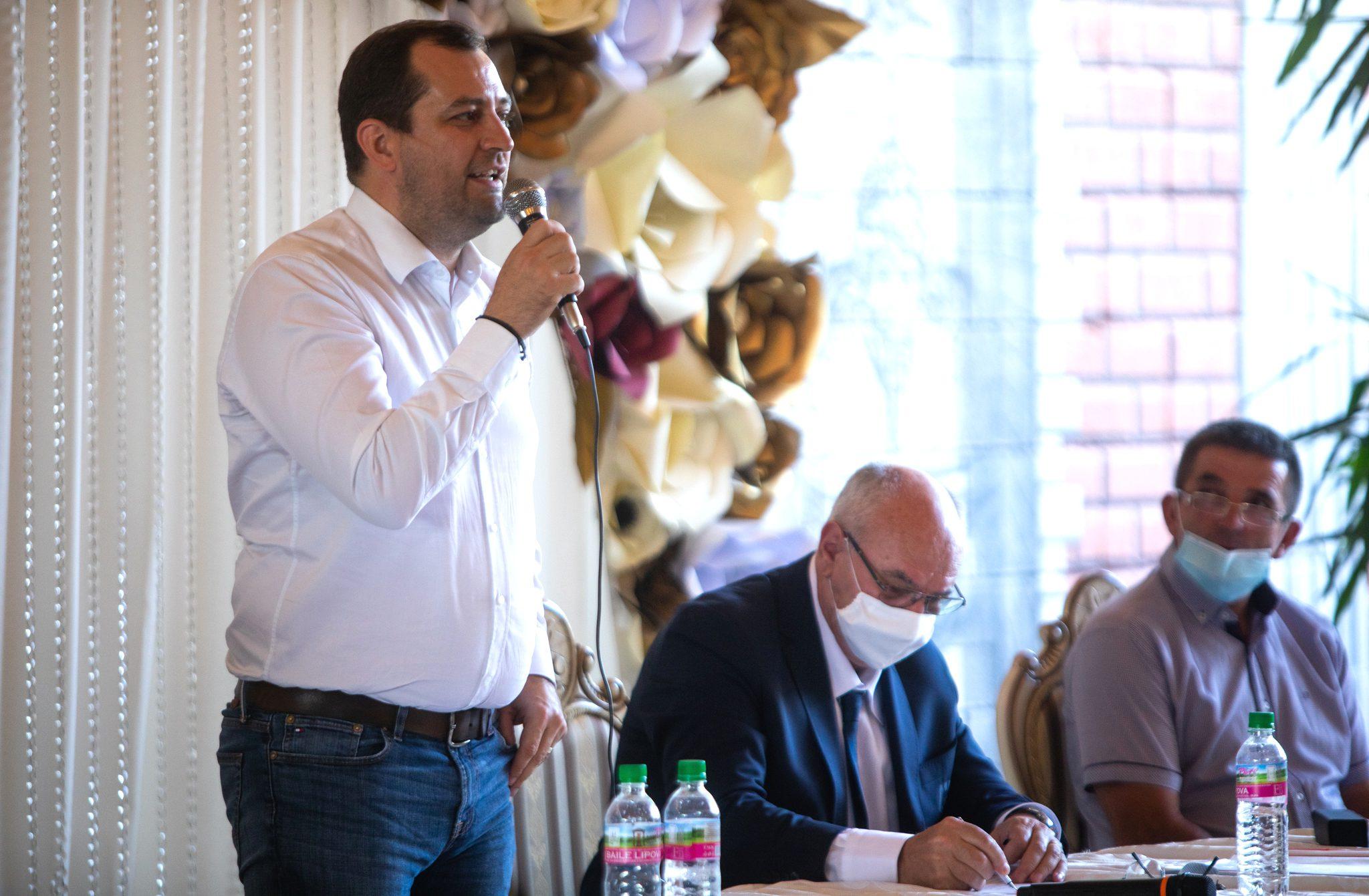 """Răzvan Cadar și-a intrat în drepturi ca președinte al AJF Arad: """"Să fim uniți și să creștem sănătos împreună!"""""""