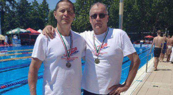 Înotătorii masters, la primele medalii de după pandemie