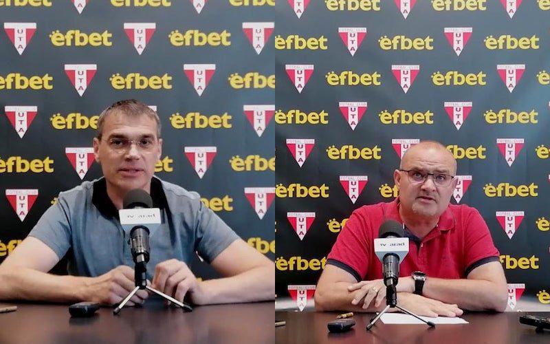 """UTA a semnat cu Efbet cel mai mare contract de sponzorizare din istoria clubului: Firma de pariuri și jocuri online e și primul partener internațional al """"roș-albilor""""!"""