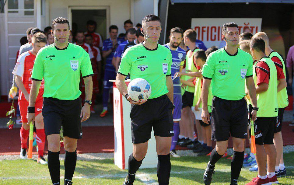 Bucureșteanul Petrescu fluieră UTA – FCSB