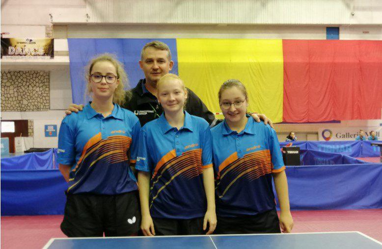Fetele CSM-ului arădean îşi joacă menţinerea în Superliga de tenis de masă la Izvorani